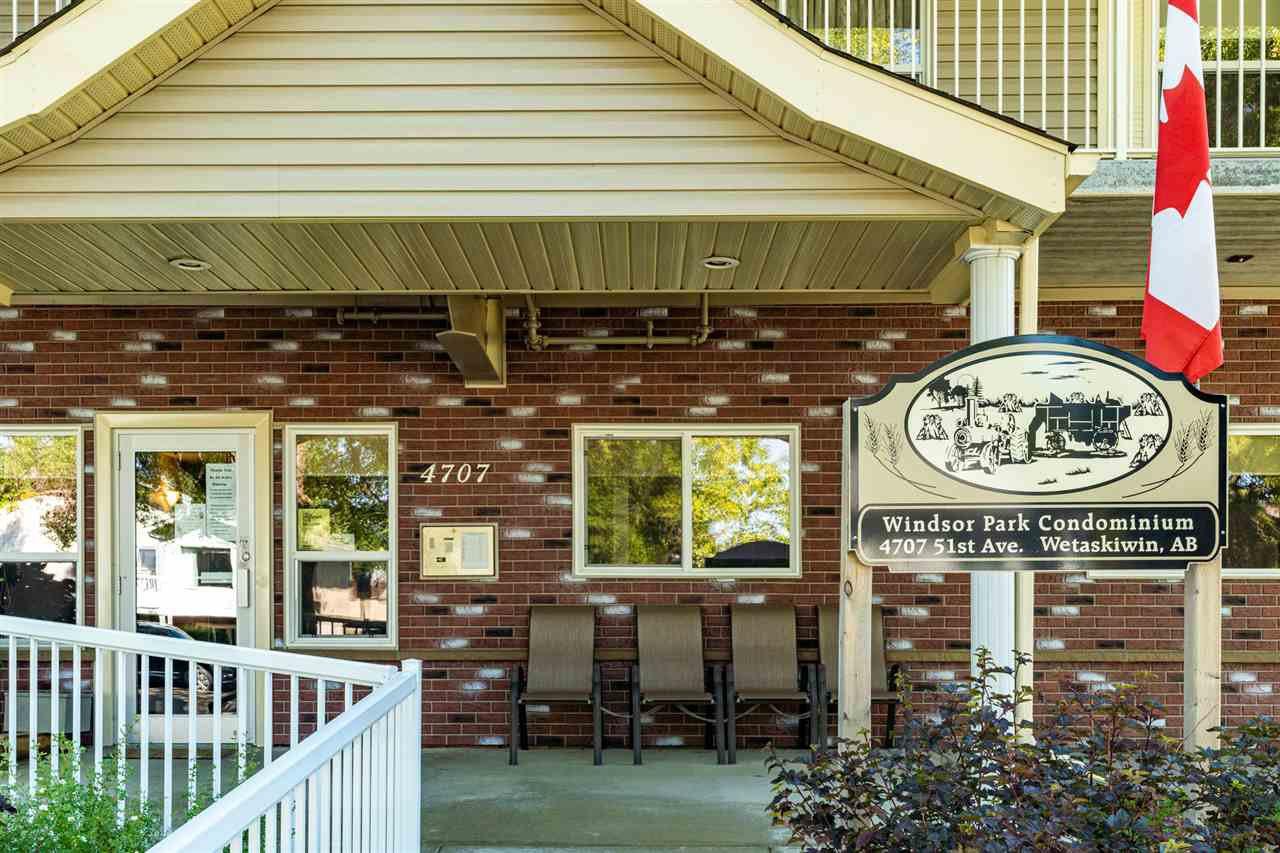 Photo 34: Photos: 208 4707 51 Avenue: Wetaskiwin Condo for sale : MLS®# E4210882