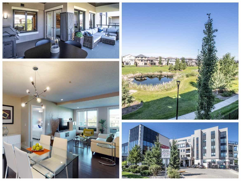Main Photo: 204 1350 WINDERMERE Way in Edmonton: Zone 56 Condo for sale : MLS®# E4208360