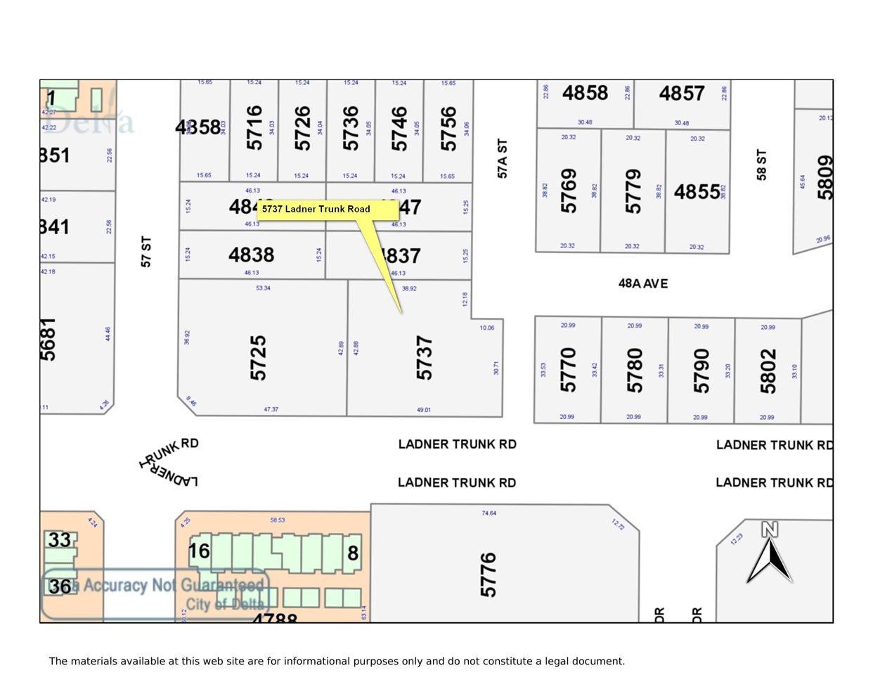 Main Photo: 5737 LADNER TRUNK Road in Delta: Hawthorne Land Commercial for sale (Ladner)  : MLS®# C8034109