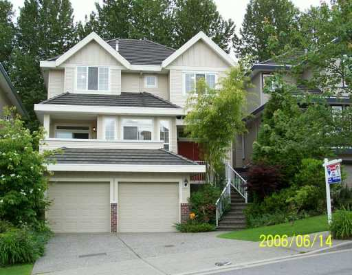 "Main Photo: 1706 PADDOCK DR in Coquitlam: Westwood Plateau House for sale in ""WESTWOOD PLATEAU"" : MLS®# V596828"