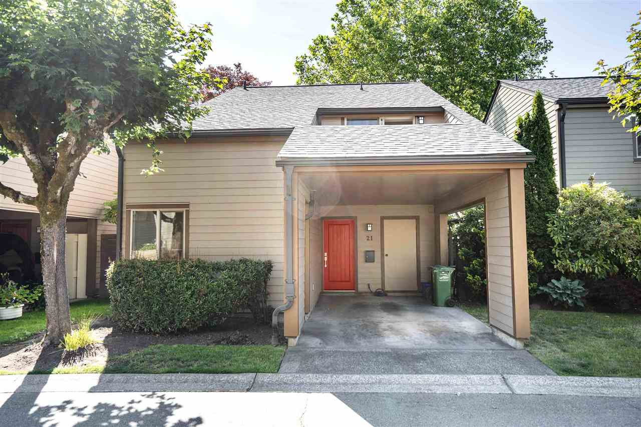 Main Photo: 21 6871 FRANCIS ROAD in Richmond: Woodwards Townhouse for sale : MLS®# R2398384