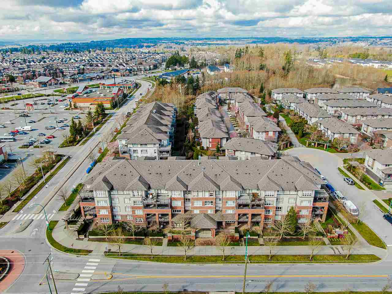 """Main Photo: 302 6815 188 Street in Surrey: Clayton Condo for sale in """"Compass"""" (Cloverdale)  : MLS®# R2457530"""