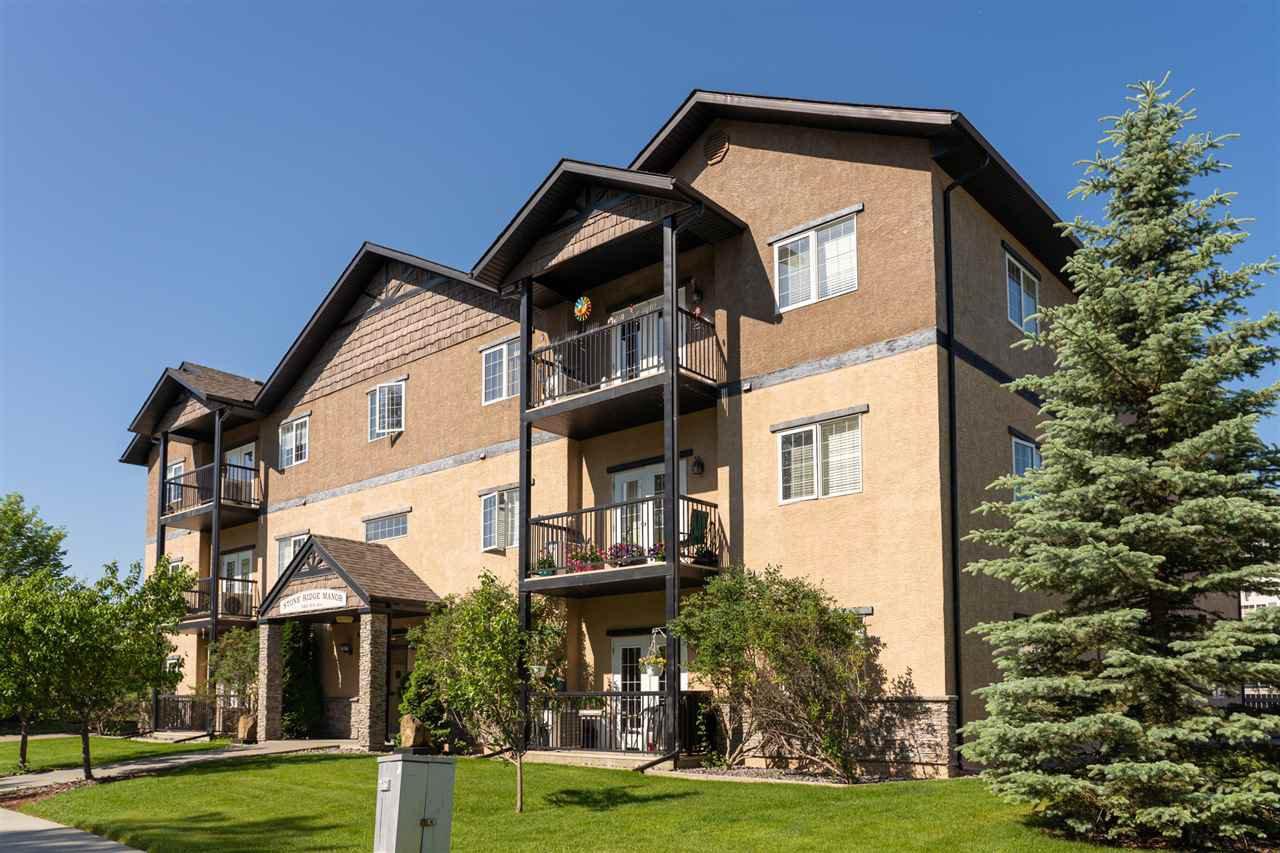 Main Photo: 103 5401 37A Avenue: Wetaskiwin Condo for sale : MLS®# E4204705