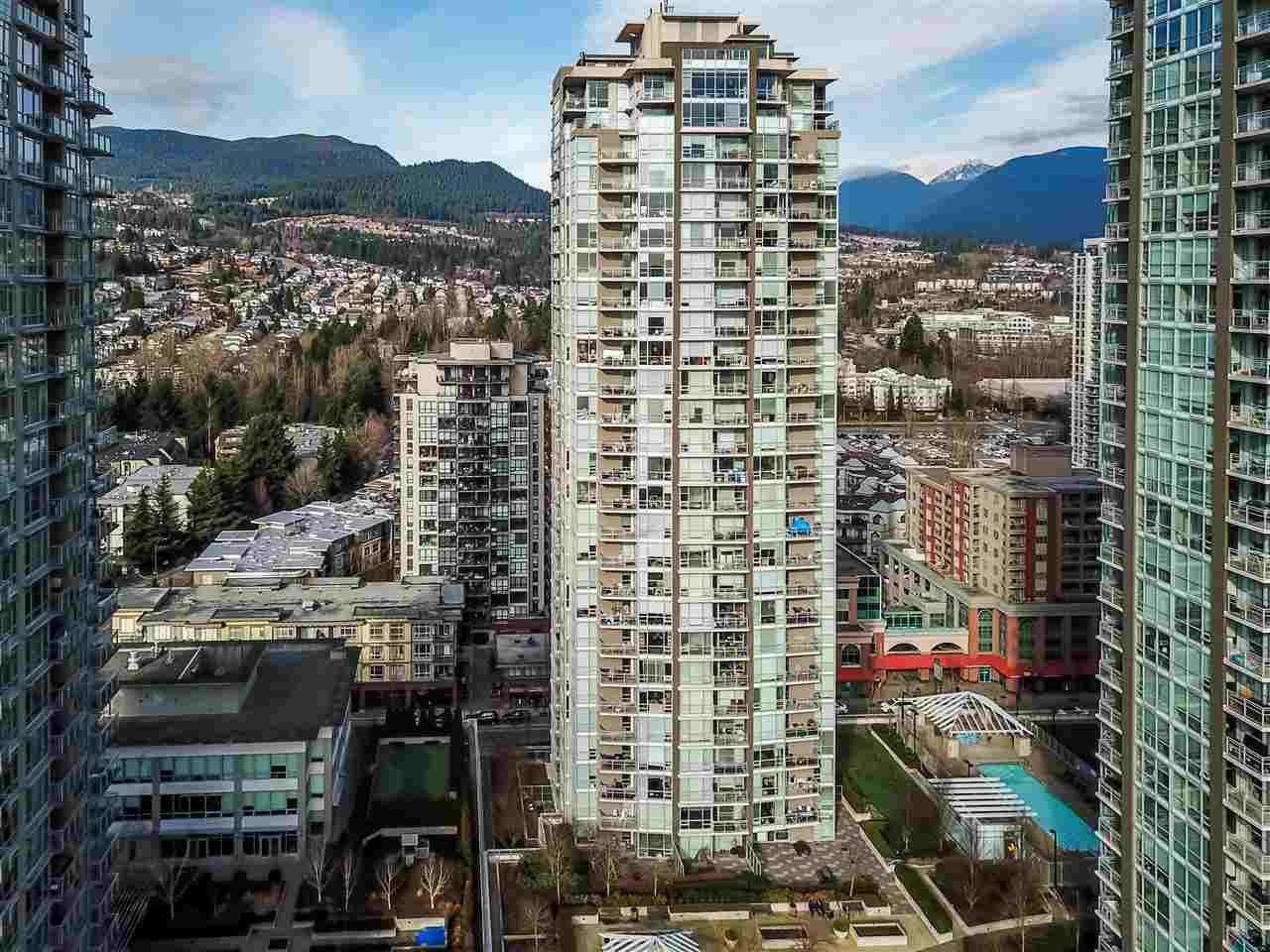 "Main Photo: 905 2968 GLEN Drive in Coquitlam: North Coquitlam Condo for sale in ""Grand Central II"" : MLS®# R2435722"