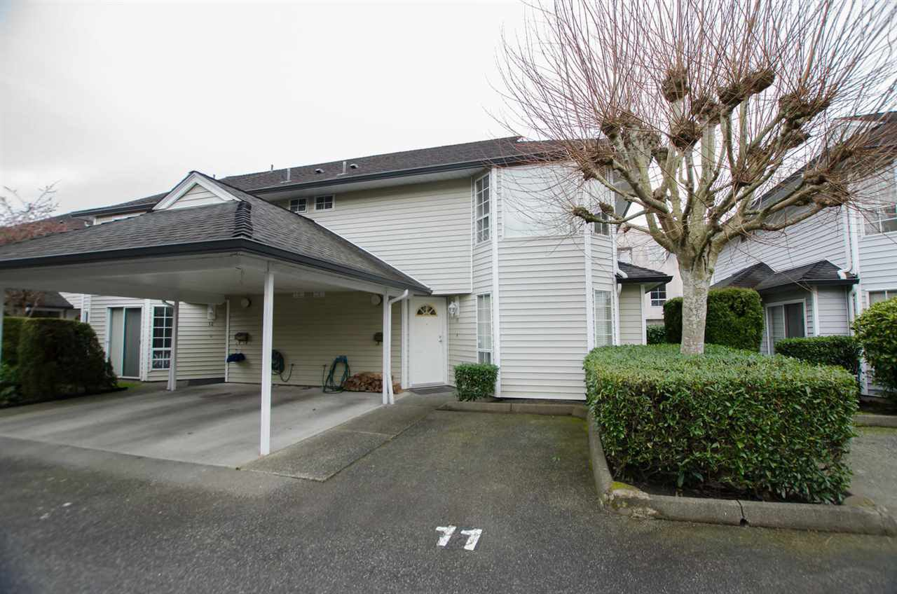 "Main Photo: 11 7360 MINORU Boulevard in Richmond: Brighouse South Townhouse for sale in ""RIDGECREST"" : MLS®# R2444133"