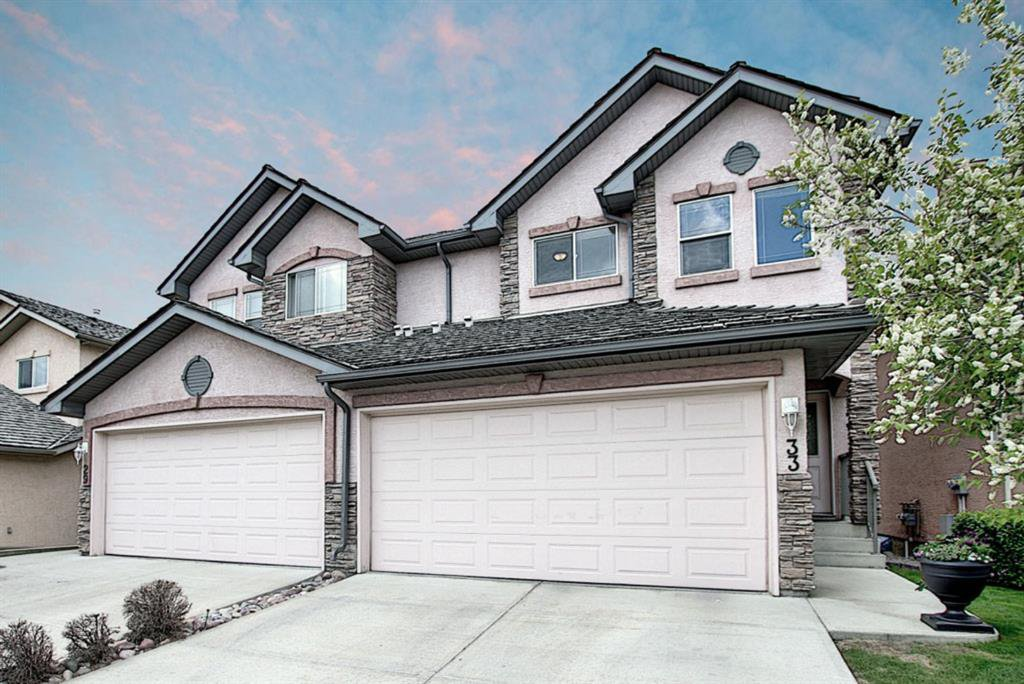 Main Photo: 33 ROYAL CREST View NW in Calgary: Royal Oak Semi Detached for sale : MLS®# C4299689