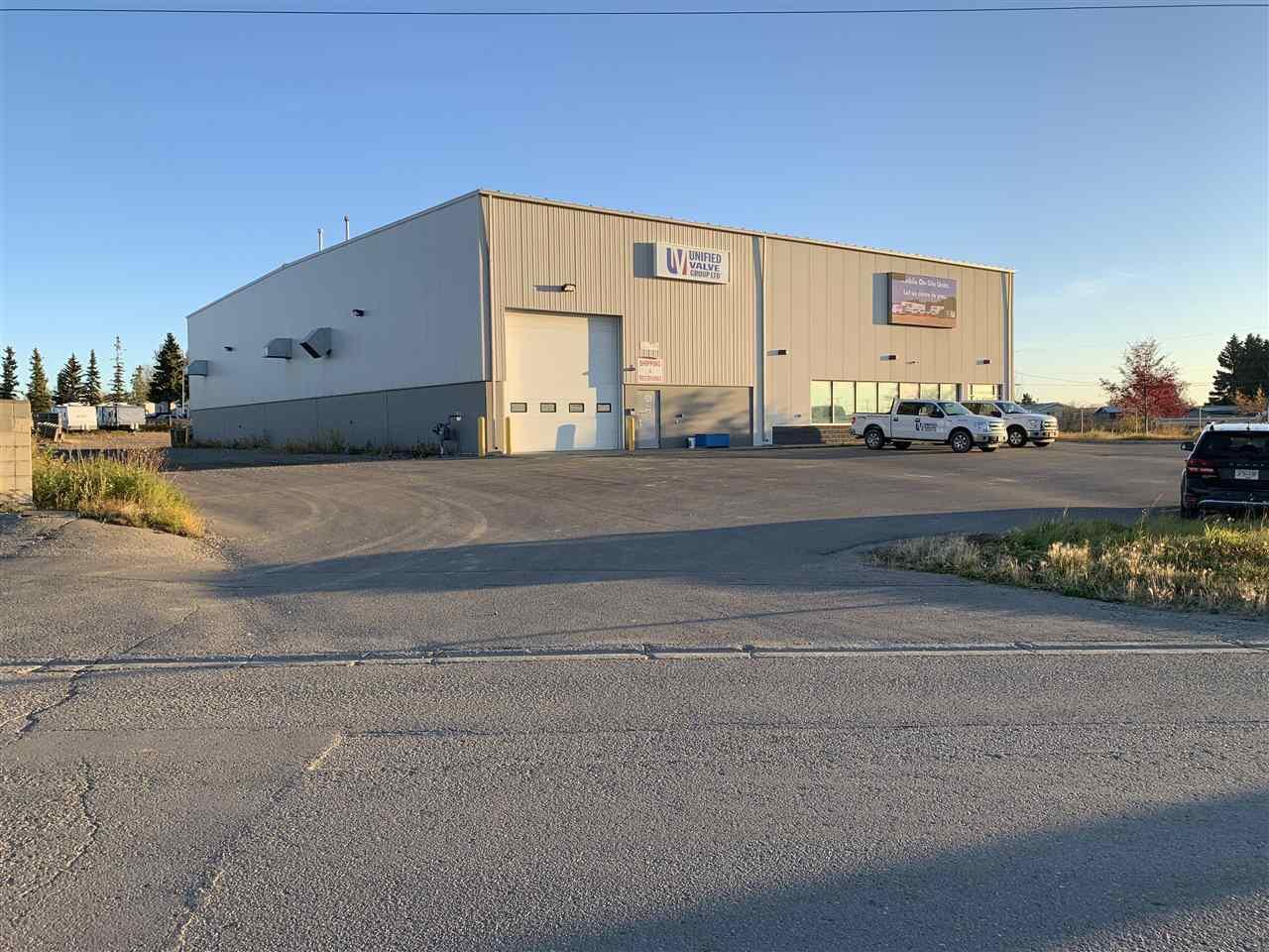 Main Photo: 8316 N ALASKA Road in Fort St. John: Fort St. John - City SE Industrial for sale (Fort St. John (Zone 60))  : MLS®# C8034329