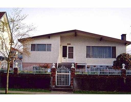 Main Photo: 2034 E 3TH Avenue in EAST VANCOUVER: Victoria VE House for sale (Vancouver East)  : MLS®# V697384