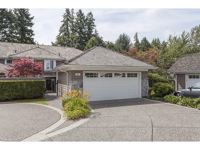 Main Photo: 61 3355 MORGAN CREEK Way in South Surrey White Rock: Morgan Creek Home for sale ()  : MLS®# F1447078