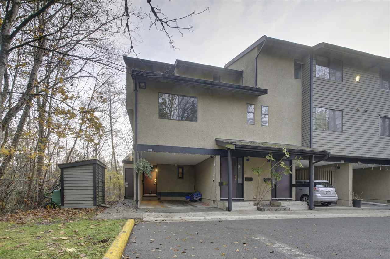 Main Photo: 3490 NAIRN AVENUE in Vancouver: Champlain Heights Townhouse for sale (Vancouver East)  : MLS®# R2419271