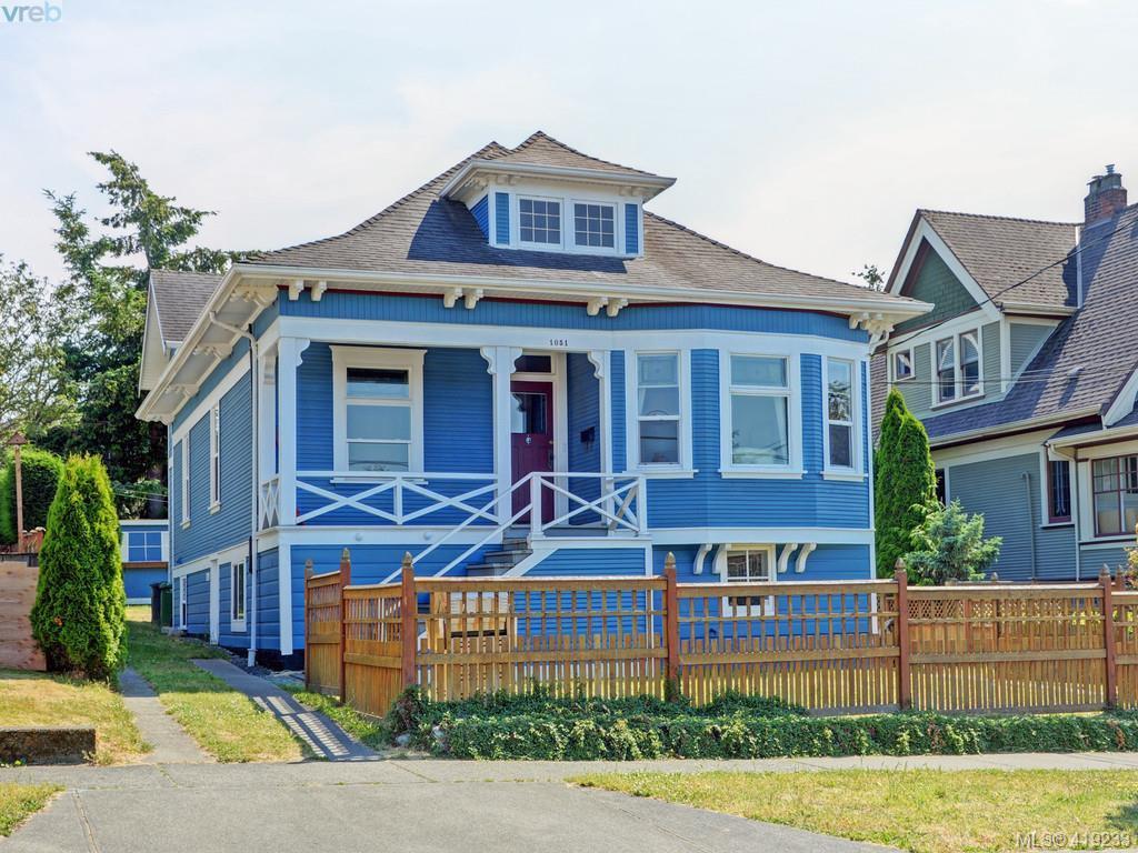 Main Photo: 1051 Queens Avenue in VICTORIA: Vi Central Park Half Duplex for sale (Victoria)  : MLS®# 419233