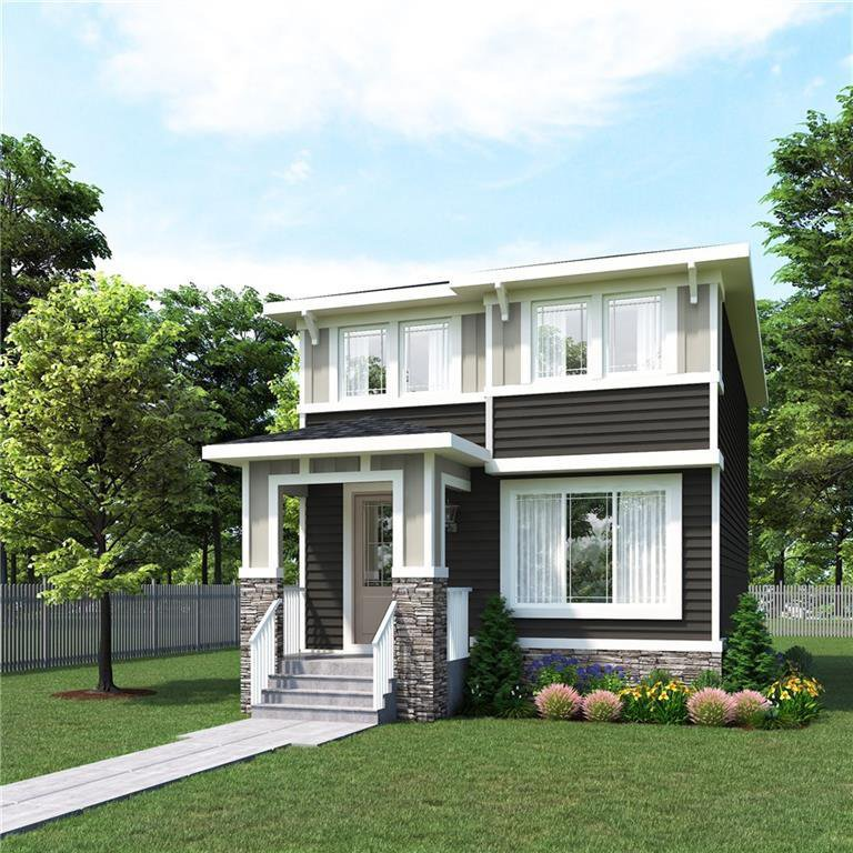 Front elevation. Note  actual elevation may be different than this rendering.