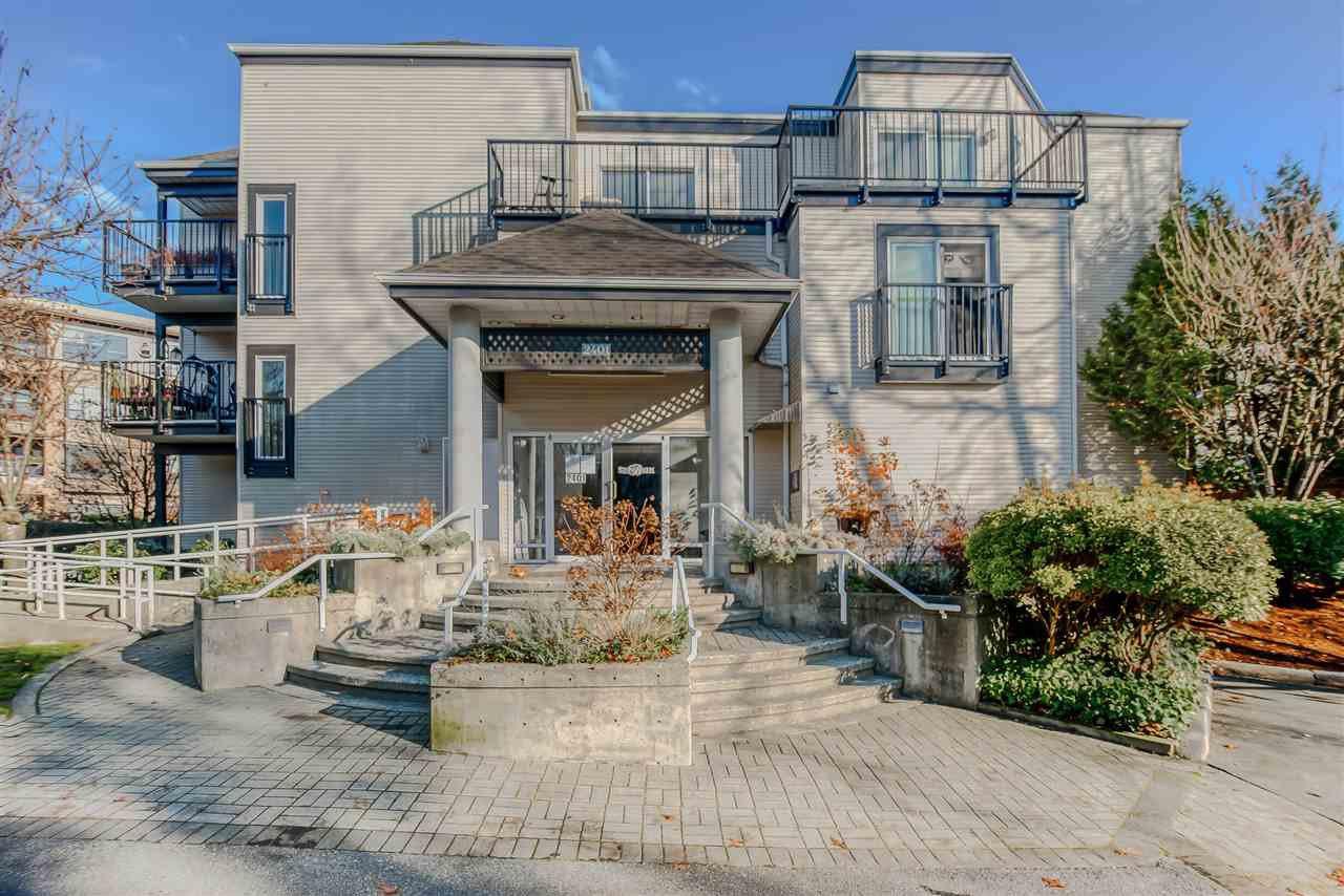 Main Photo: 306 2401 HAWTHORNE Avenue in Port Coquitlam: Central Pt Coquitlam Condo for sale : MLS®# R2421465