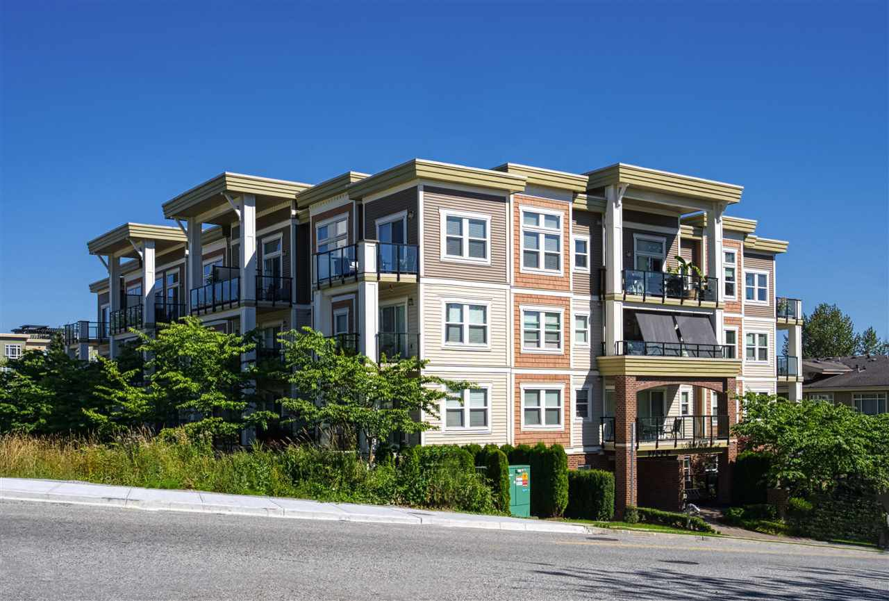"Main Photo: 408 11580 223 Street in Maple Ridge: West Central Condo for sale in ""River's Edge"" : MLS®# R2480841"