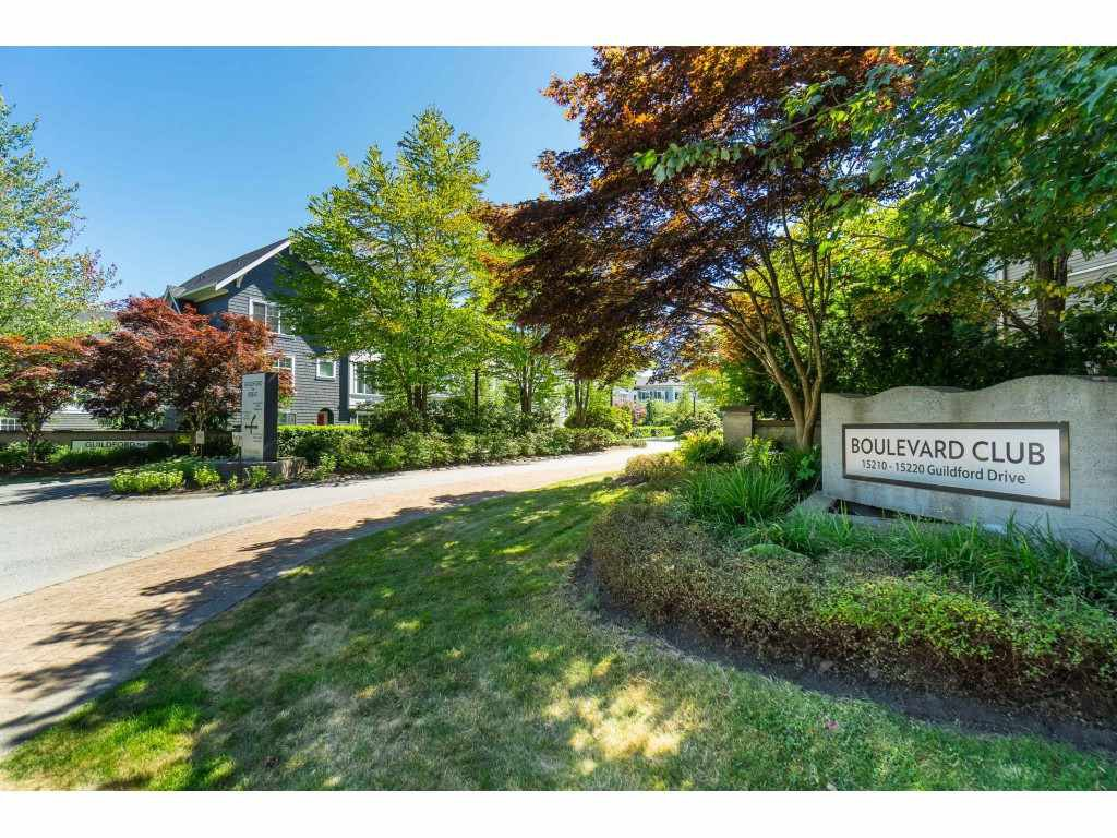 "Main Photo: 118 15210 GUILDFORD Drive in Surrey: Guildford Condo for sale in ""THE BOULEVARD CLUB"" (North Surrey)  : MLS®# R2478167"