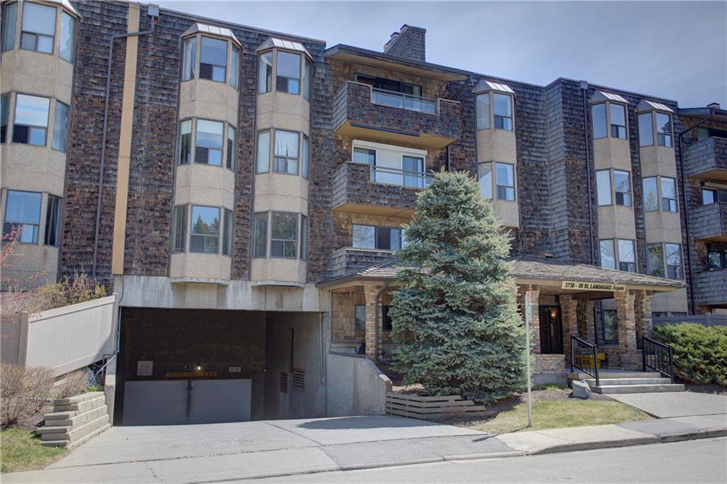 Main Photo: 117 3730 50 Street NW in Calgary: Varsity Apartment for sale : MLS®# A1032433