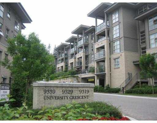 "Main Photo: 304 9319 UNIVERSITY Crescent in Burnaby: Simon Fraser Univer. Condo for sale in ""HARMONY"" (Burnaby North)  : MLS®# V690430"