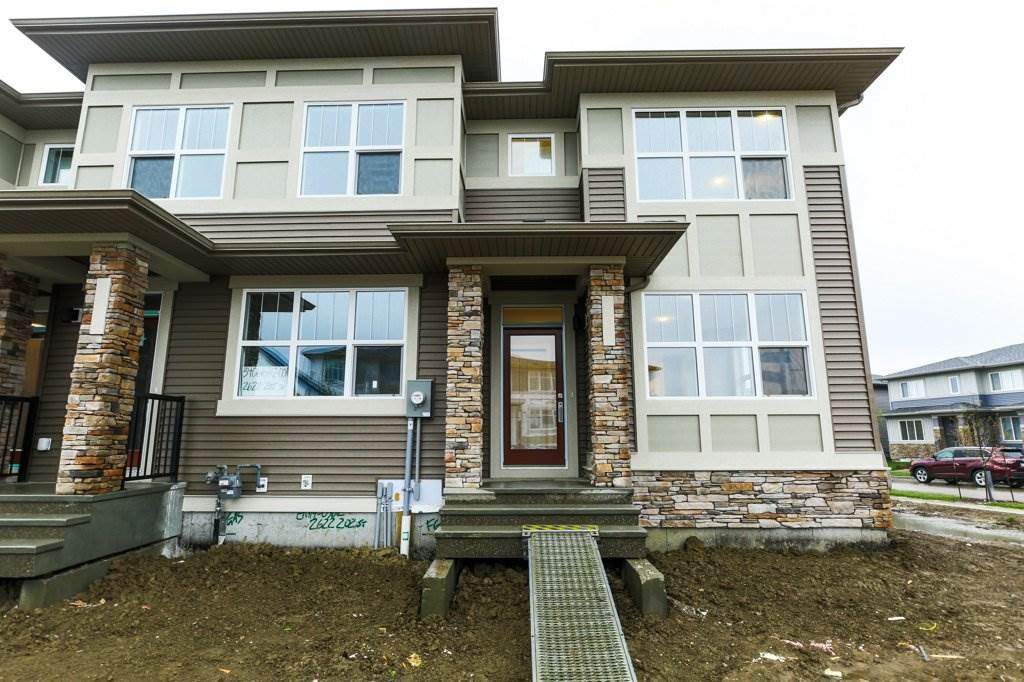 Main Photo:  in Edmonton: Zone 57 Attached Home for sale : MLS®# E4198277