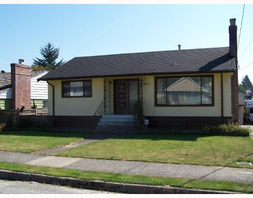 Main Photo: 230 Blackman Street in New Westminster: GlenBrooke North House for sale : MLS®# V668174