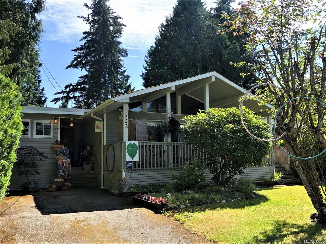 Main Photo: 222 W Fern Rd in QUALICUM BEACH: PQ Qualicum Beach Single Family Detached for sale (Parksville/Qualicum)  : MLS®# 845006