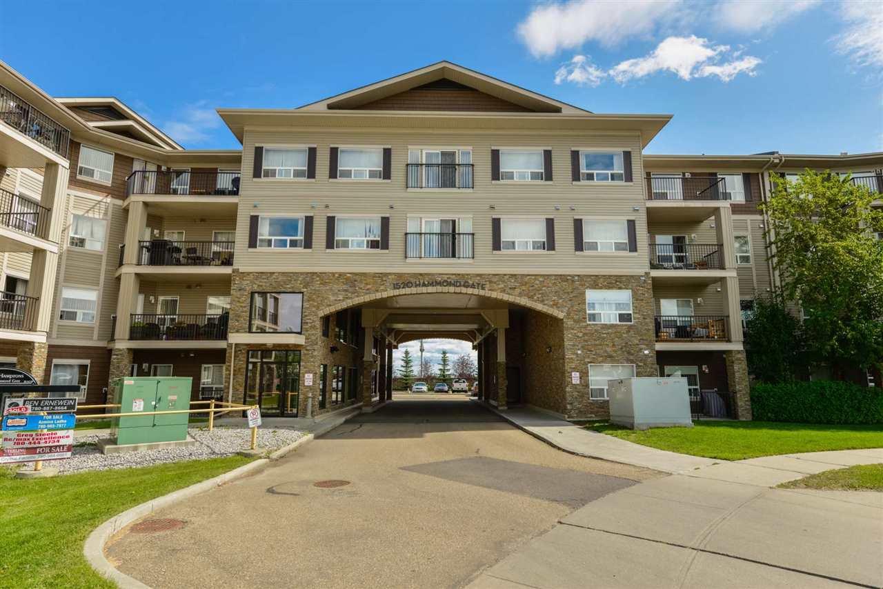 Main Photo: #312 - 1520 Hammond GA in Edmonton: Zone 58 Condo for sale : MLS®# E4214508