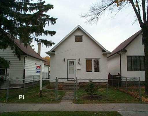 Main Photo: 415 YALE Avenue East in Winnipeg: Transcona Single Family Detached for sale (North East Winnipeg)  : MLS®# 2617602
