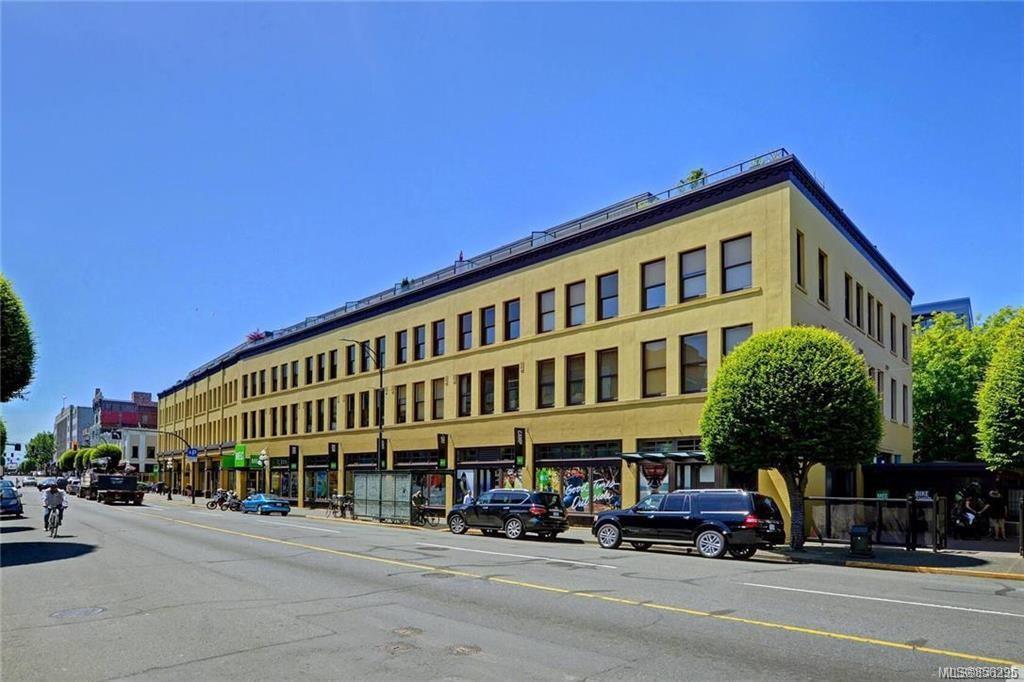 Main Photo: 223 599 Pandora Ave in : Vi Downtown Condo for sale (Victoria)  : MLS®# 856295