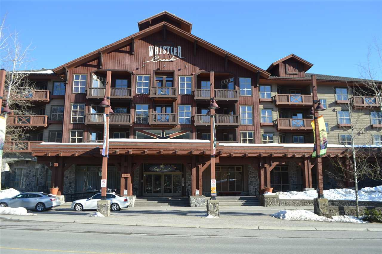 "Main Photo: 336 2036 LONDON Lane in Whistler: Whistler Creek Condo for sale in ""Legends"" : MLS®# R2501885"