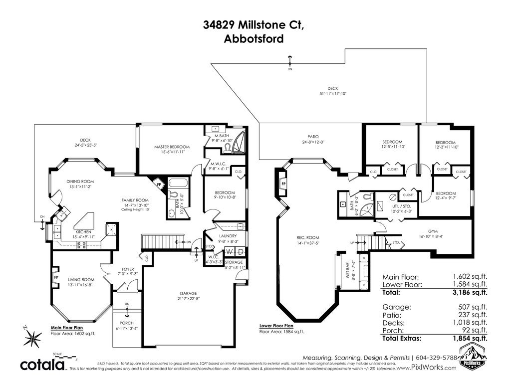 Photo 40: Photos: 34829 MILLSTONE Court in Abbotsford: Abbotsford East House for sale : MLS®# R2518764