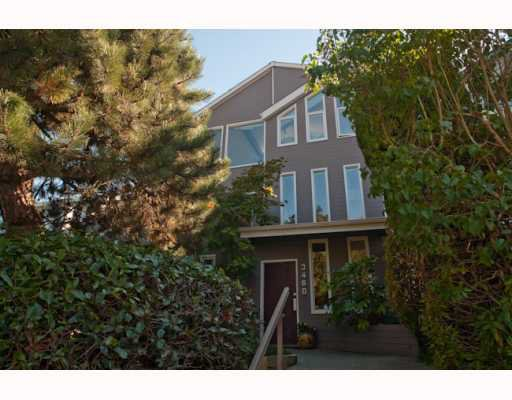Main Photo:  in Vancouver: Kitsilano House for sale (Vancouver West)  : MLS®# V787360