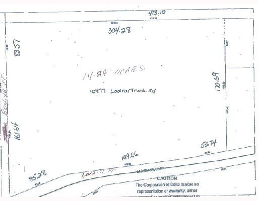 Main Photo: 10477 Ladner Trunk Road in Delta, Ladner: Land for sale (Ladner)  : MLS®# V728366