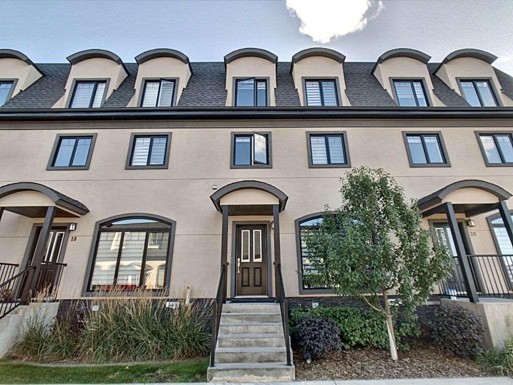 Main Photo: 19 5873 Mullen Place in Edmonton: Zone 14 Townhouse for sale : MLS®# E4176166