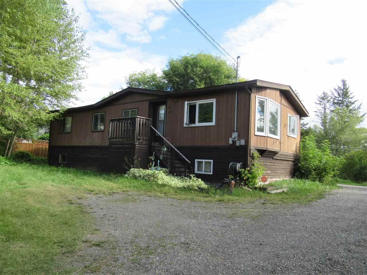 Main Photo: 1011 DAIRY Road in Williams Lake: Williams Lake - City Manufactured Home for sale (Williams Lake (Zone 27))  : MLS®# R2495328