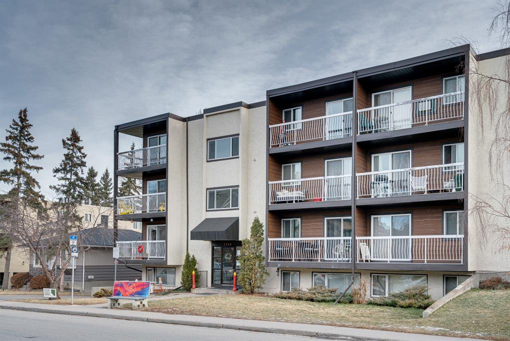 Main Photo: 206 2140 17A Street SW in Calgary: Bankview Apartment for sale : MLS®# A1053247