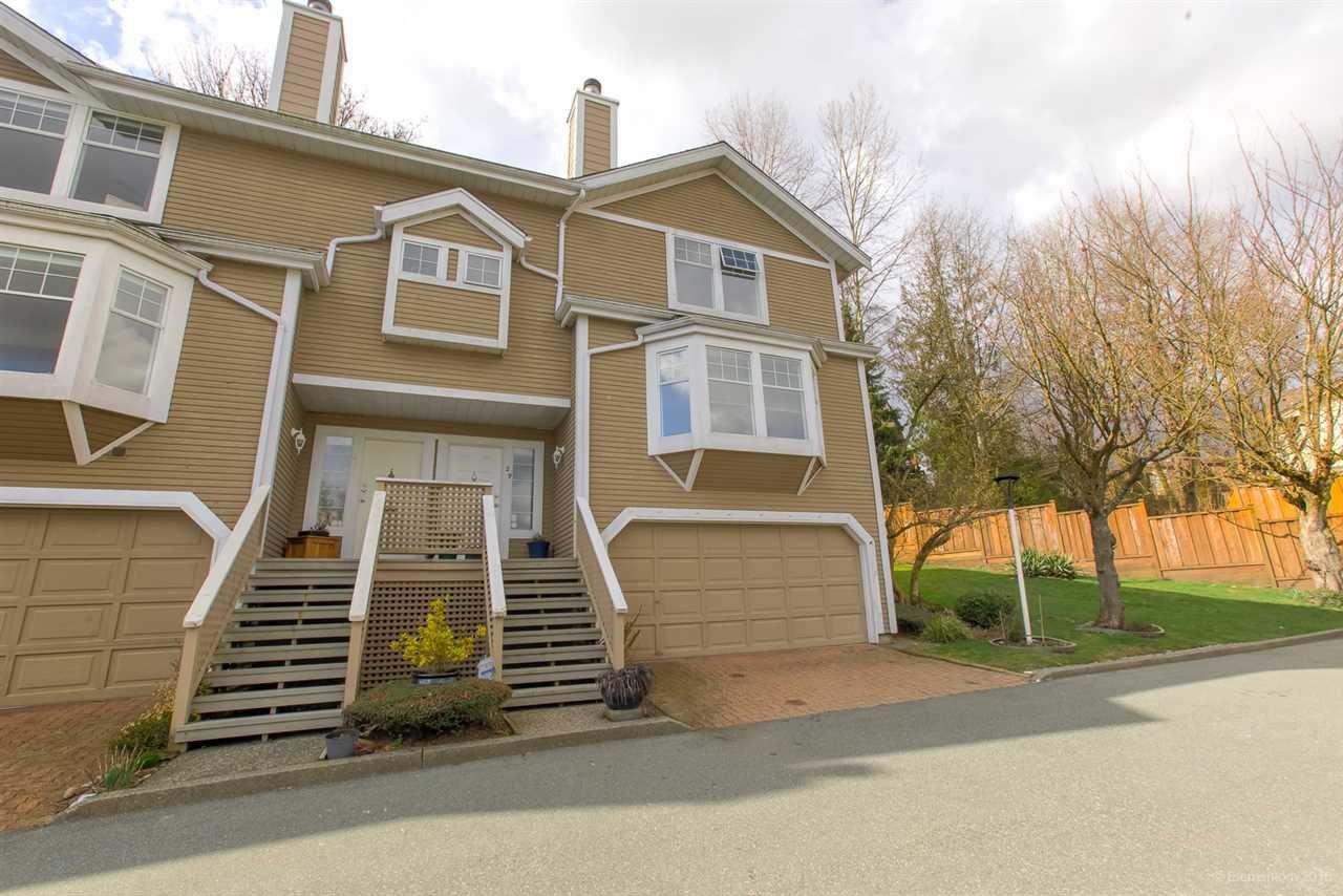"Main Photo: 29 1140 FALCON Drive in Coquitlam: Eagle Ridge CQ Townhouse for sale in ""Falcon Gate"" : MLS®# R2448398"
