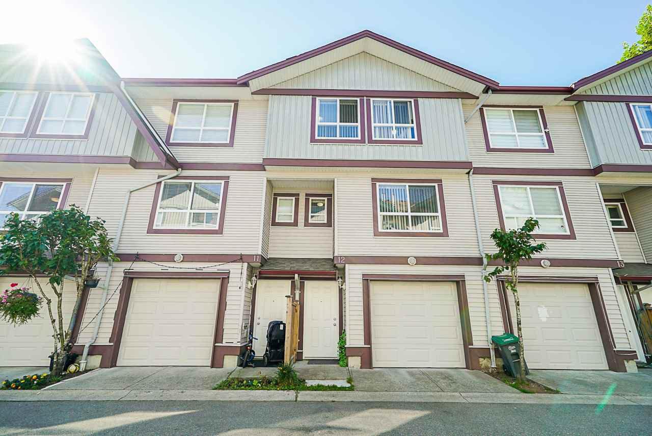 "Main Photo: 12 12730 66 Avenue in Surrey: West Newton Townhouse for sale in ""Simran Villas"" : MLS®# R2511431"