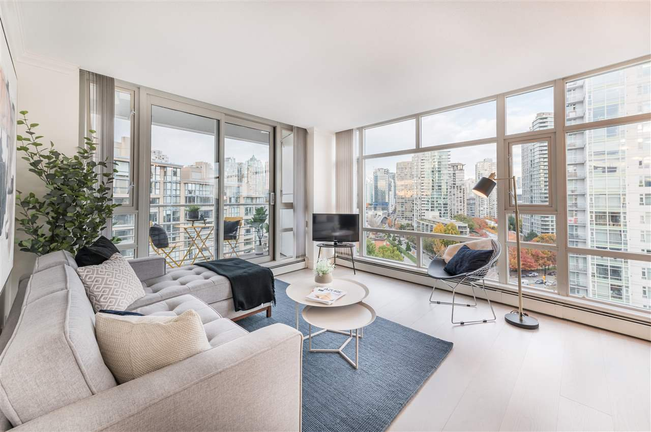 "Main Photo: 1603 189 DAVIE Street in Vancouver: Yaletown Condo for sale in ""Aquarius III"" (Vancouver West)  : MLS®# R2520481"