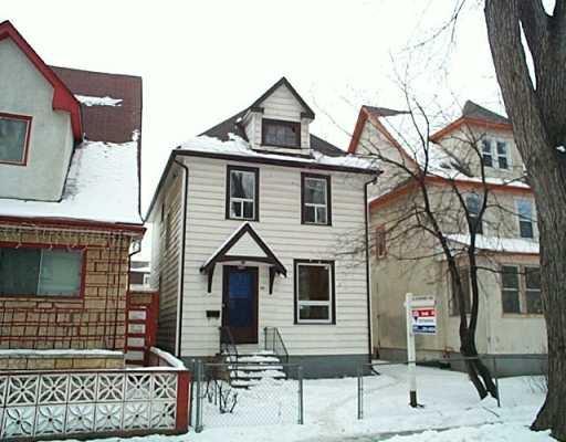 Main Photo: 397 VICTOR Street in Winnipeg: West End / Wolseley Single Family Detached for sale (West Winnipeg)  : MLS®# 2620633