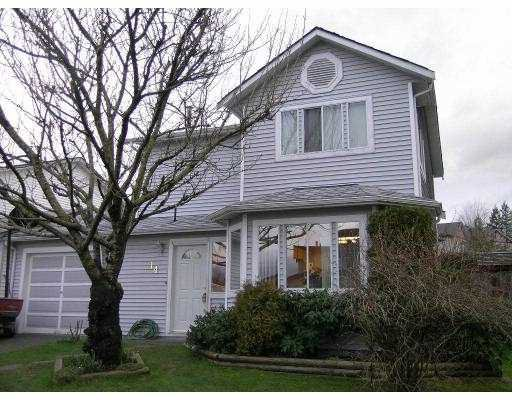 """Main Photo: 14 11125 232ND ST in Maple Ridge: East Central Townhouse for sale in """"KANAKA VILLAGE"""" : MLS®# V576696"""