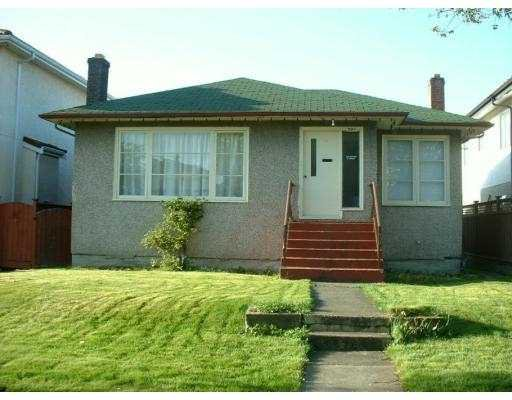 Main Photo: 593 E 27TH Ave in Vancouver: Fraser VE House for sale (Vancouver East)  : MLS®# V631692