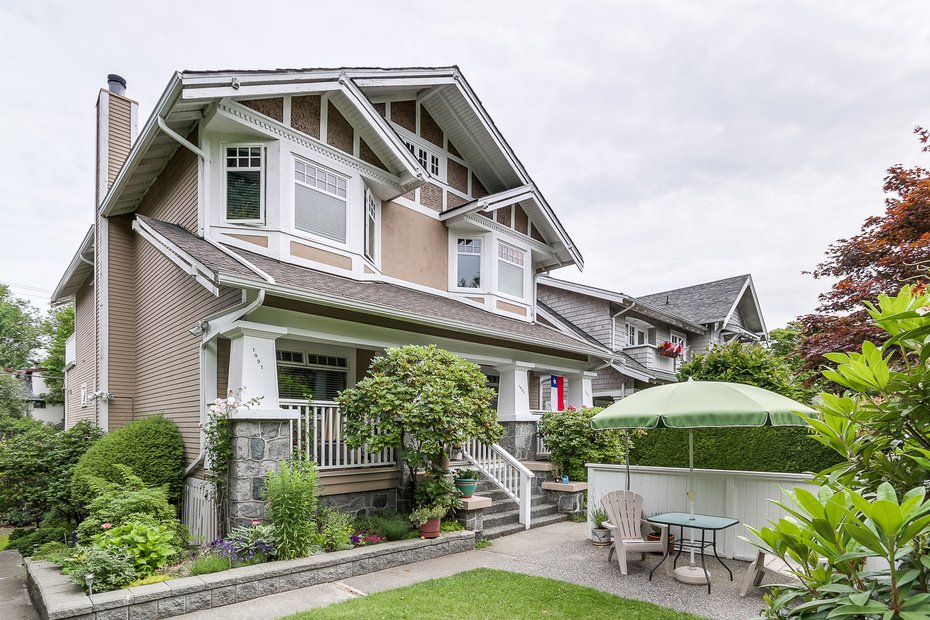 Main Photo: 1991 WEST 14th AVENUE in Vancouver: Home for sale