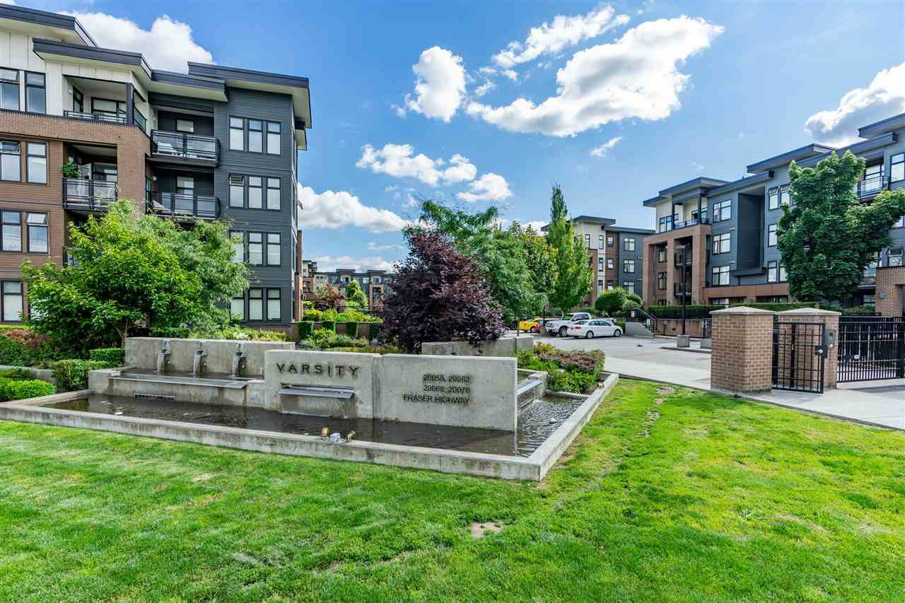 "Main Photo: 316 20068 FRASER Highway in Langley: Langley City Condo for sale in ""Varsity"" : MLS®# R2473178"