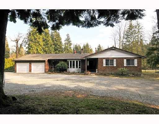 Main Photo: 12606 251ST Street in Maple_Ridge: Websters Corners House for sale (Maple Ridge)  : MLS®# V691278