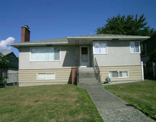 Main Photo: 3959 NAPIER ST in Burnaby: Willingdon Heights House for sale (Burnaby North)  : MLS®# V557025