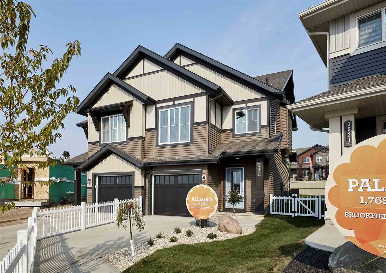 Main Photo: 3523 CHERRY Landing in Edmonton: Zone 53 House Half Duplex for sale : MLS®# E4172238