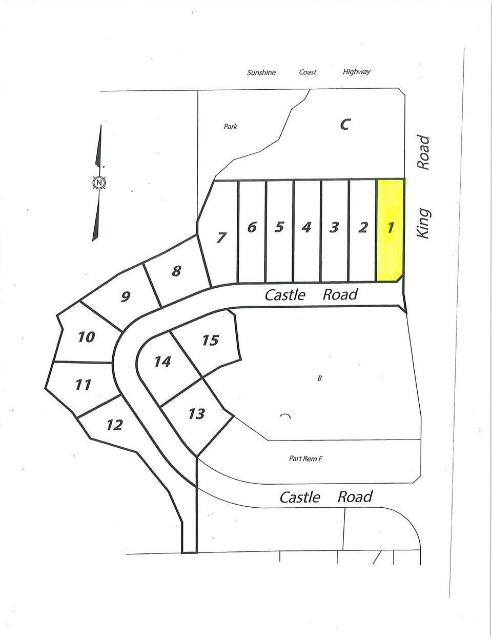 """Main Photo: LOT 1 CASTLE Road in Gibsons: Gibsons & Area Land for sale in """"KING & CASTLE"""" (Sunshine Coast)  : MLS®# R2422339"""
