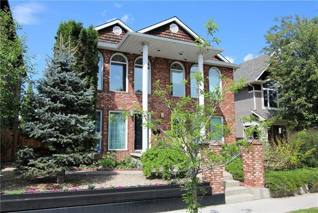 Main Photo: 603 15 Street NW in Calgary: Hillhurst Semi Detached for sale : MLS®# C4300214