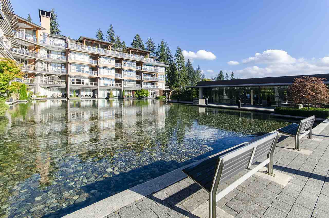 Main Photo: 402 3606 ALDERCREST Drive in North Vancouver: Roche Point Condo for sale : MLS®# R2493855