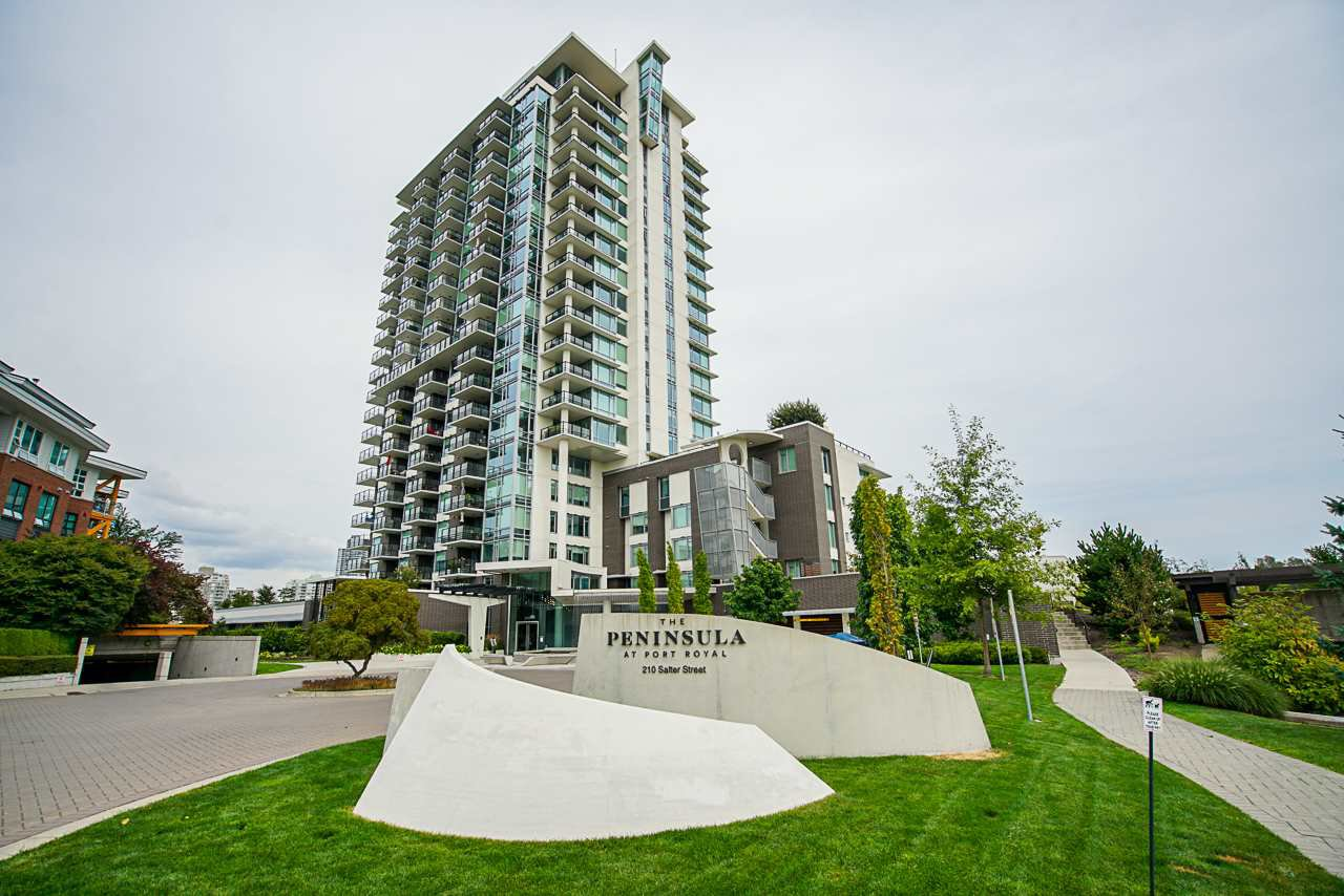 """Main Photo: 1201 210 SALTER Street in New Westminster: Queensborough Condo for sale in """"The Peninsula"""" : MLS®# R2497782"""