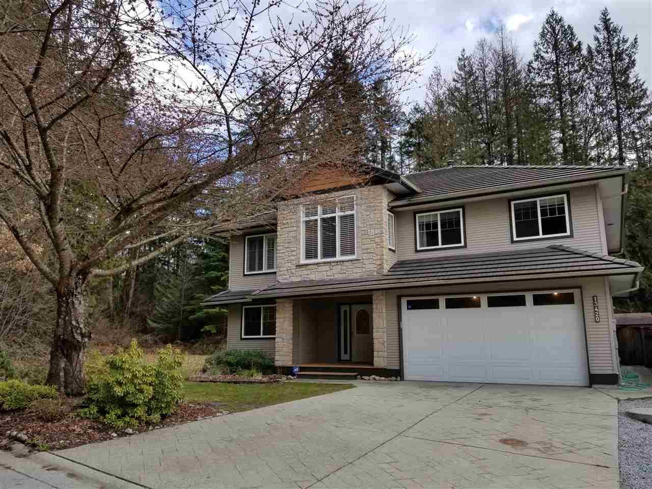"Main Photo: 13420 237A Street in Maple Ridge: Silver Valley House for sale in ""Rock Ridge"" : MLS®# R2509601"